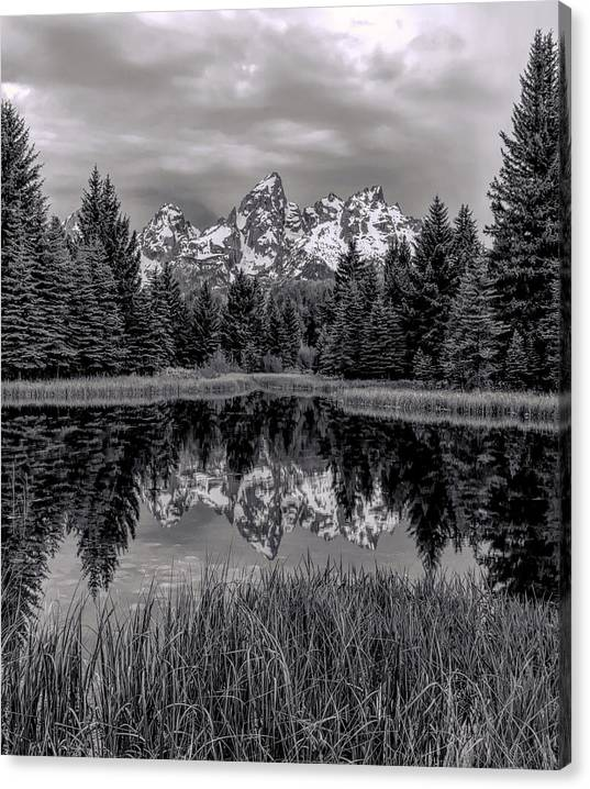 Limited Time Promotion: Morning Reflections Stretched Canvas Print