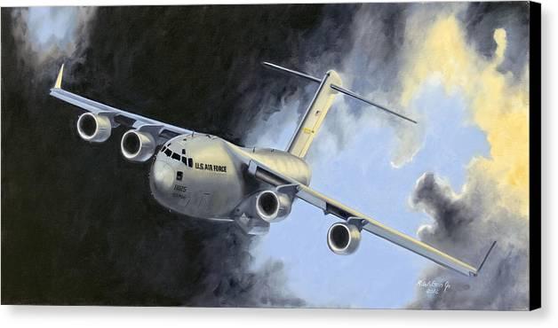 Iraq Canvas Print featuring the painting Iraqi Bound by Karen Wilson