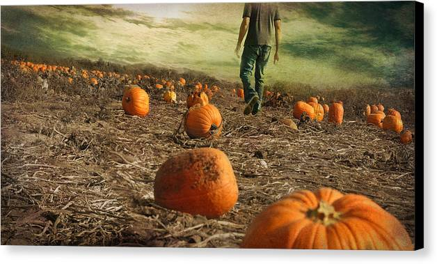 Fall Canvas Print featuring the photograph Coming Soon by Inesa Kayuta