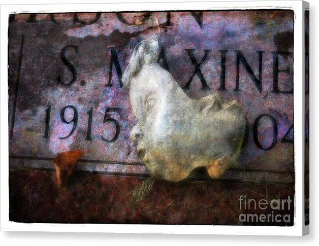 Face Canvas Print featuring the photograph Babyface by Michael Ziegler