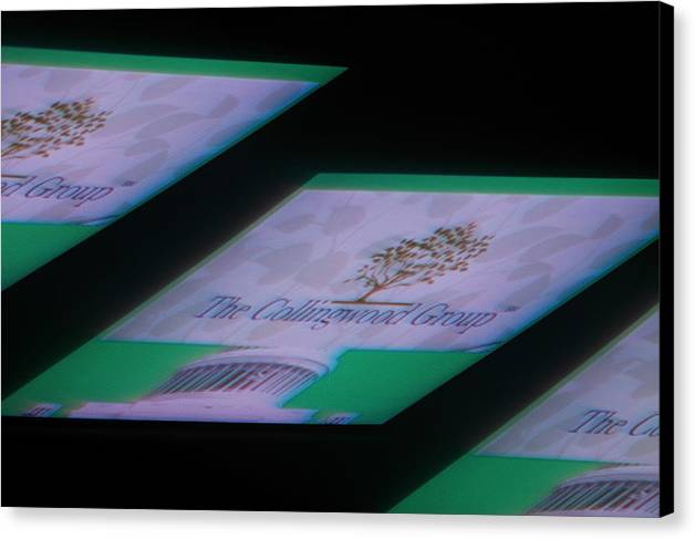 Collingwoods Group Plgregori Gregori Pierluigigregori Hyperphoto Light Painting Behance Photography Canvas Print featuring the photograph The Collingwoods Group Project N.1 by Pierluigi Gregori