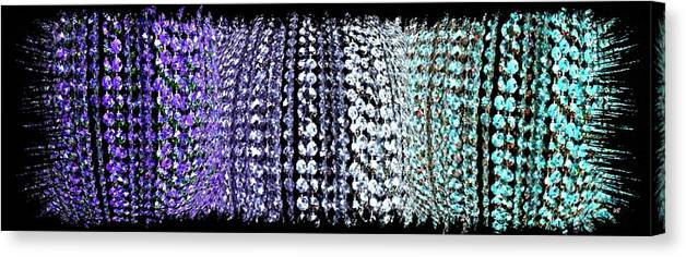 Abstract Fusion 219 Canvas Print featuring the digital art Abstract Fusion 219 by Will Borden