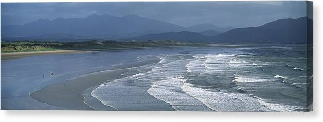 Beach Canvas Print featuring the photograph Toursim, Ring Of Beara, Co Cork by The Irish Image Collection