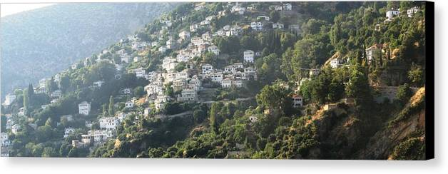 Greece Canvas Print featuring the photograph 0116852 - Greece - Pilio by Costas Aggelakis