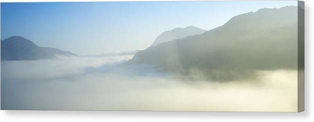 Outdoors Canvas Print featuring the photograph Ladies View, Killarney, Co Kerry by The Irish Image Collection