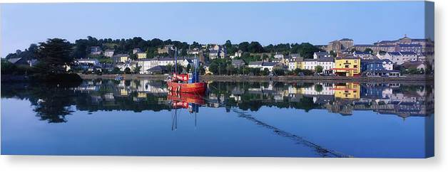 Calm Canvas Print featuring the photograph Kinsale Harbour, Co Cork, Ireland by The Irish Image Collection