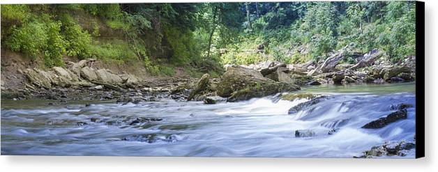 River Canvas Print featuring the photograph Running Water by Will Akers