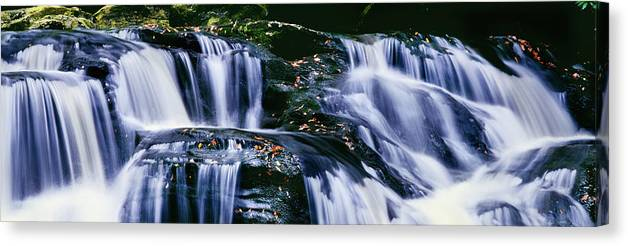 Photography Canvas Print featuring the photograph View Of Waterfall, Inversnaid Falls by Panoramic Images