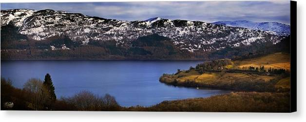 Loch Ness Canvas Print featuring the photograph Loch Ness by Joe Macrae
