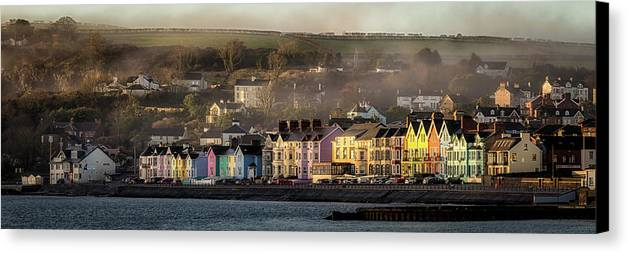 Whitehead Canvas Print featuring the photograph Whitehead Sunrise by Nigel R Bell