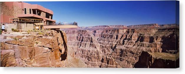 Grand Canyon Skywalk Eagle Point West Canvas Print