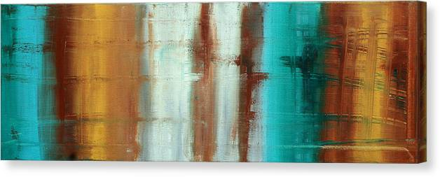 Decorative Canvas Print featuring the painting River Of Desire 1 By Madart by Megan Duncanson