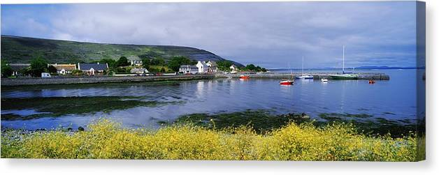 Ballyvaughan Canvas Print featuring the photograph Ballyvaughan, Co Clare, Ireland Small by The Irish Image Collection