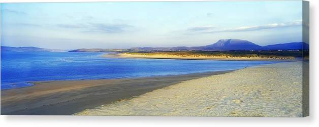 Coast Canvas Print featuring the photograph Magheraroarty, County Donegal, Ireland by The Irish Image Collection