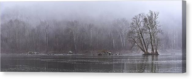 Potomac River Canvas Print featuring the photograph Potomac Panorama by Francis Sullivan