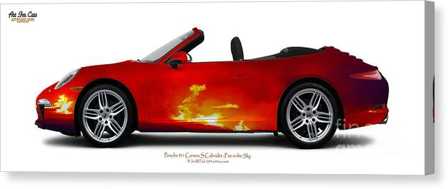 Car Canvas Print featuring the photograph Porsche 911 by Art Faul