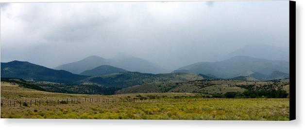 Colorado Canvas Print featuring the photograph Colorado Foothills by Daniel Dodd