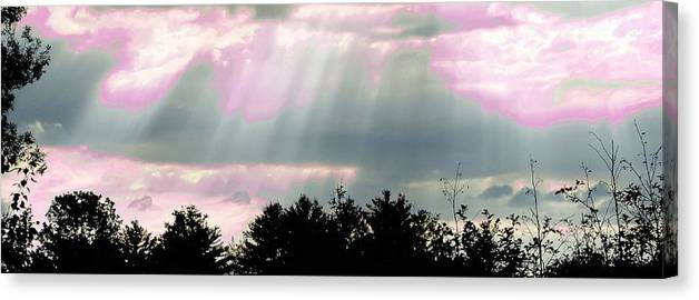 This Too Shall Pass 2 Canvas Print featuring the photograph This Too Shall Pass 2 by Mike Breau