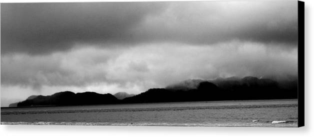 Mist Canvas Print featuring the photograph Misty Mountains by Ashley Sarem