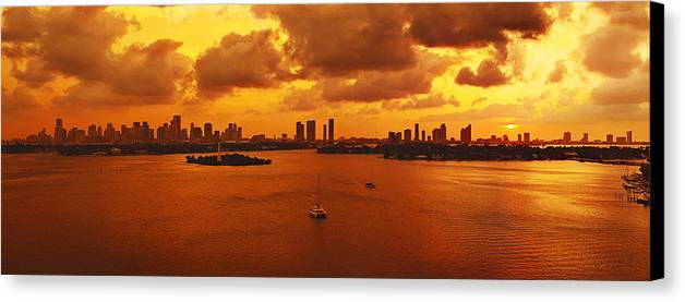 Panorama Canvas Print featuring the photograph The Color Of Passion by Michael Guirguis