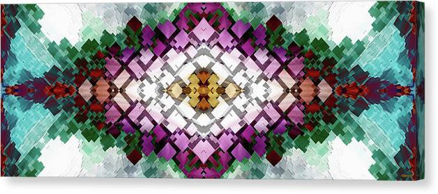 Cuboids Canvas Print featuring the digital art Cuboid Unlimited by Xzendor7