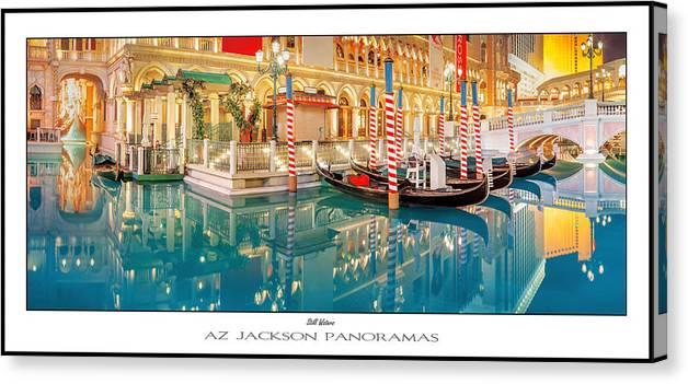 Las Vegas Canvas Print featuring the photograph Still Waters Poster Print by Az Jackson