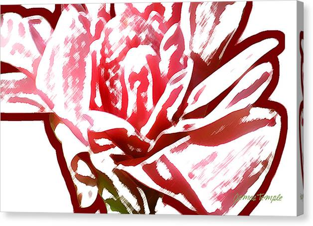 Breathless Canvas Print featuring the digital art Breathless by James Temple