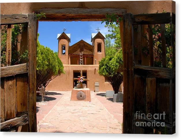 El Santuario de Chimayo by David Lee Thompson