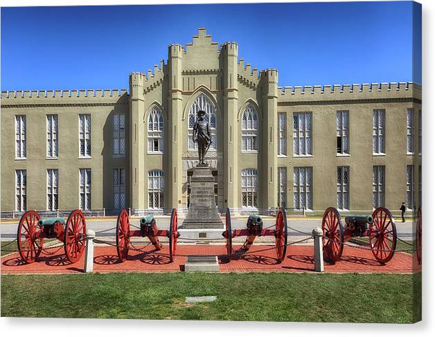 The Old Barracks - Virginia Military Institute by Susan Rissi Tregoning