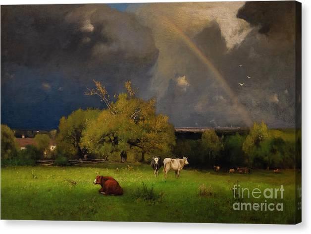 The Rainbow, circa 1878-1879 by George Inness