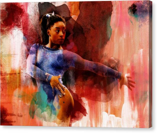 Simone Biles Pure Excellence by Brian Reaves