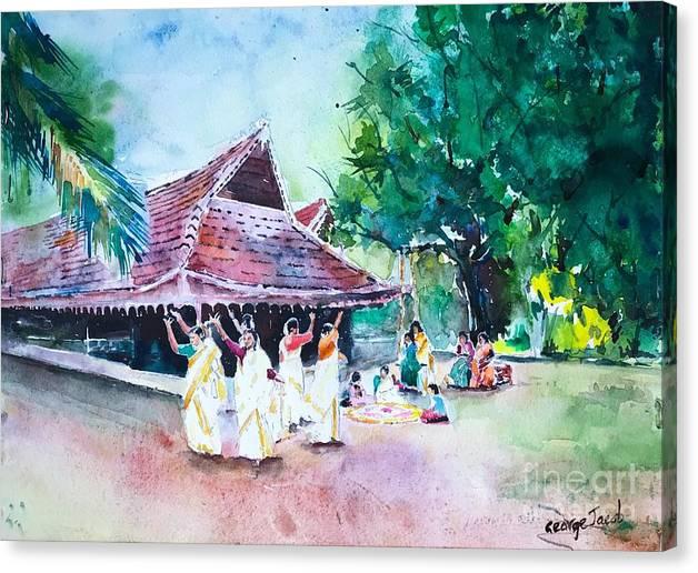 Thiruvathira dance Onam by George Jacob