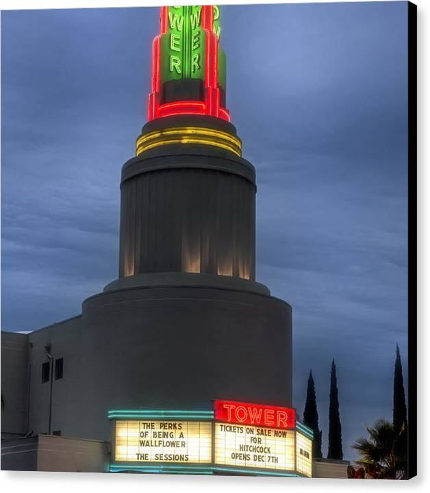 The Tower Theatre of Sacramento by Mountain Dreams