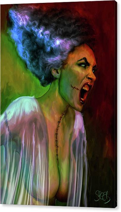 The Bride of Frankenstein by Mark Spears