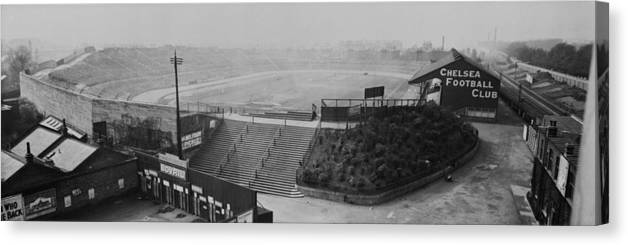 Empty Canvas Print featuring the photograph Stamford Bridge View by Alfred Hind Robinson