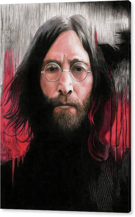 John Lennon Abstract by JPW Artist
