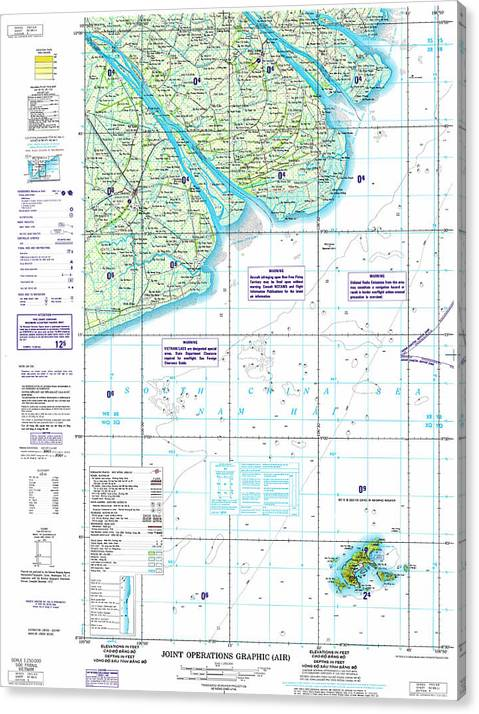 Nc 48 11 Soc Trang Joint Operations Graphic Air Topographic Map