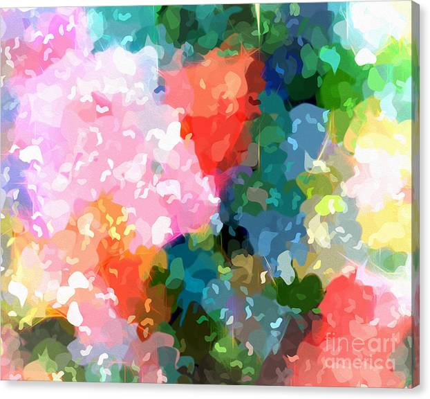 Limited Time Promotion: Colorplay Stretched Canvas Print