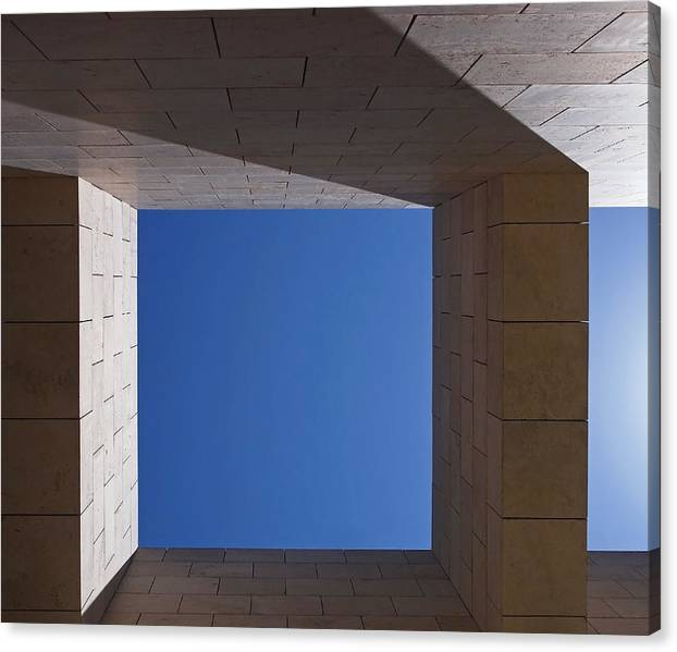 Limited Time Promotion: Sky Box At The Getty  Stretched Canvas Print