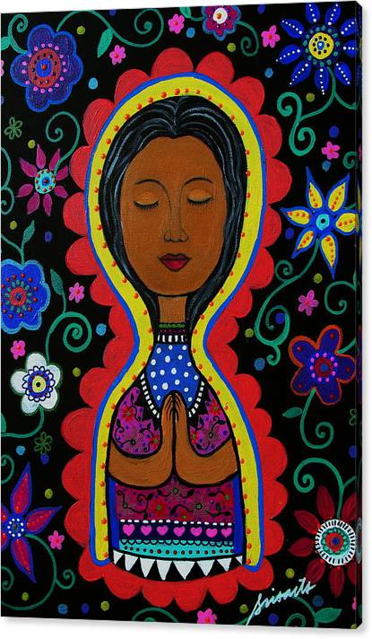 Limited Time Promotion: Nuestra Senora De Guadalupe Stretched Canvas Print