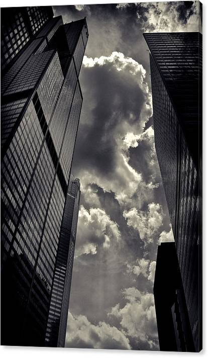 Limited Time Promotion: Chicago Willis Tower Stretched Canvas Print