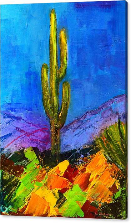 Limited Time Promotion: Desert Giant Stretched Canvas Print