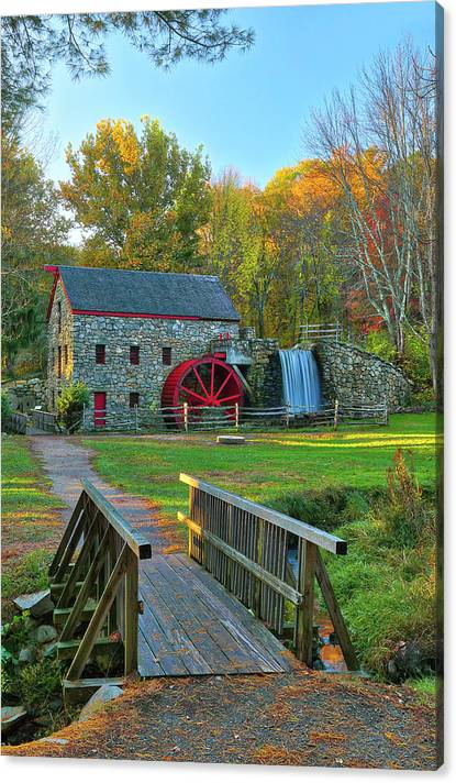 Limited Time Promotion: Sudbury Massachusetts Stretched Canvas Print