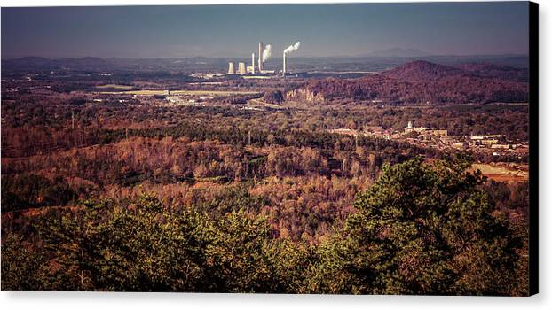 Canvas Print featuring the photograph Cartersville, Ga by Honey Bunch Lyn Photographs