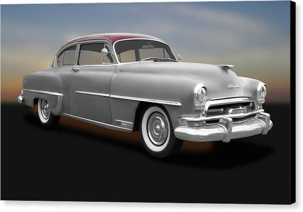 1954 Chrysler Windsor Deluxe Sedan  -  1954chryslerwindsordeluxe183847 by Frank J Benz
