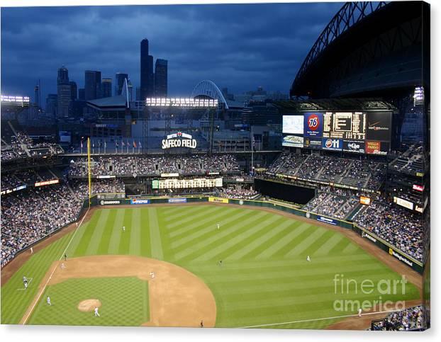 Safeco Field Seattle Washington by Bill Cobb