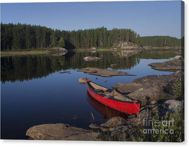 Quiet Waters Of Quetico by Richard Reinders