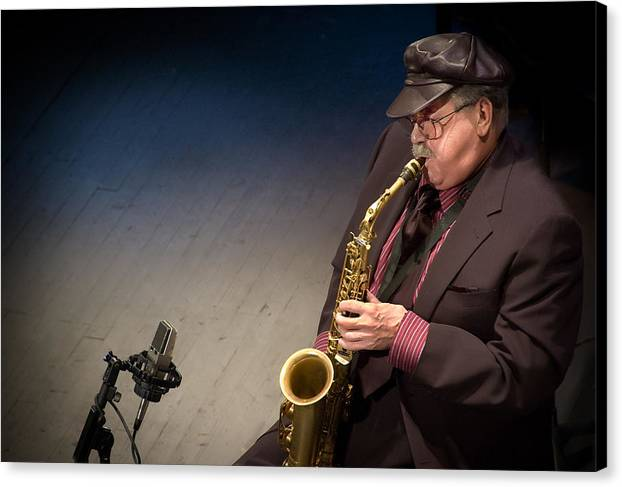 Phil Woods by Garth Woods