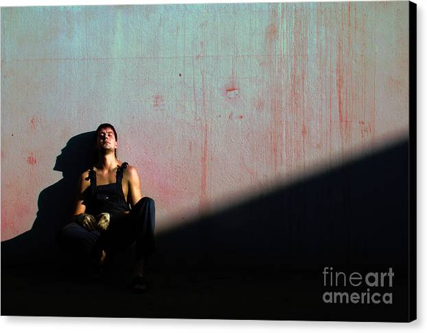 Light Canvas Print featuring the photograph The Friend To My Friend... by Vadim Grabbe