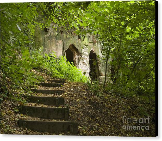 Hermitage Canvas Print featuring the photograph The Hermitage by Steev Stamford
